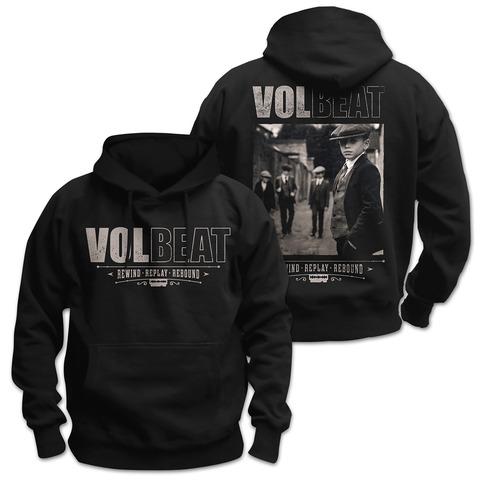 √Rewind Replay Rebound Cover von Volbeat - Hood sweater jetzt im Bravado Shop