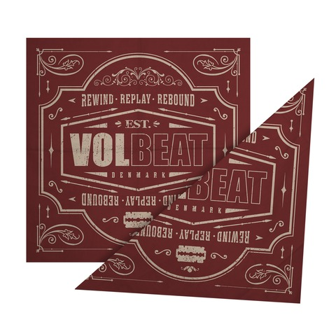 √Rewind Replay Rebound von Volbeat - Bandana jetzt im Bravado Shop