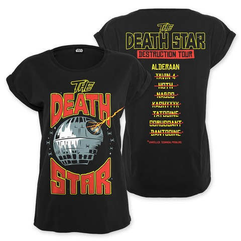 √Death Star Destruction Tour von Star Wars - Girlie Shirt jetzt im Bravado Shop