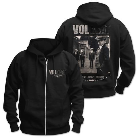 √Rewind Replay Rebound Cover von Volbeat - Hooded jacket jetzt im Bravado Shop