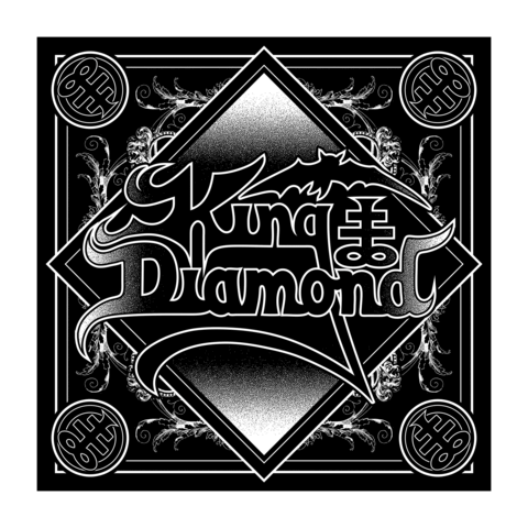√Ornaments Logo von King Diamond - Bandana jetzt im Bravado Shop