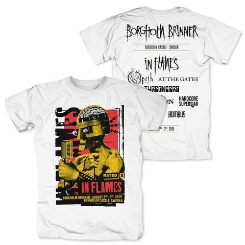 √Check The Mic Rated X von In Flames - T-Shirt jetzt im Bravado Shop
