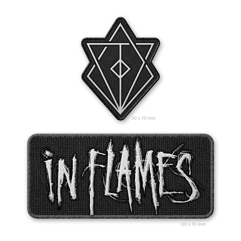 √Jesterhead and Logo von In Flames - 2er Aufnäher Set jetzt im Bravado Shop