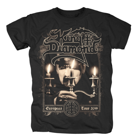 √Candles - European Tour 2019 von King Diamond - T-Shirt jetzt im Bravado Shop
