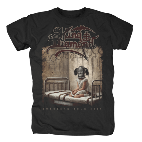 √The Institute - European Tour 2019 von King Diamond - T-Shirt jetzt im Bravado Shop