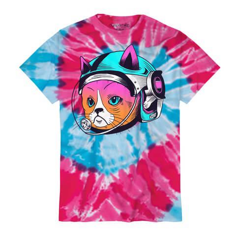 √Astro Cat von Frequency Festival - T-Shirt jetzt im Bravado Shop
