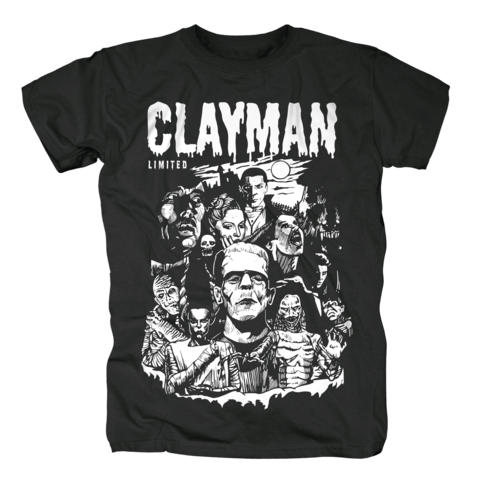 √Mutants and Monsters von Clayman Limited - T-Shirt jetzt im Bravado Shop