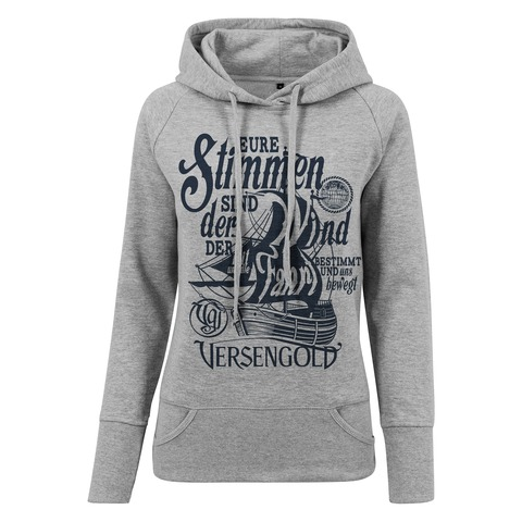 √Eure Stimmen sind der Wind von Versengold - Girlie hooded sweater jetzt im Bravado Shop