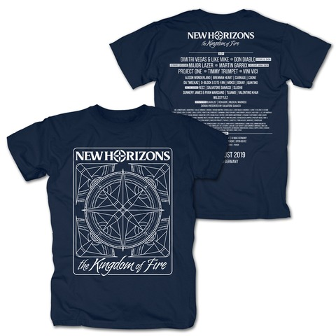 √Kingdom of Fire Line Up von New Horizons - T-Shirt jetzt im Bravado Shop