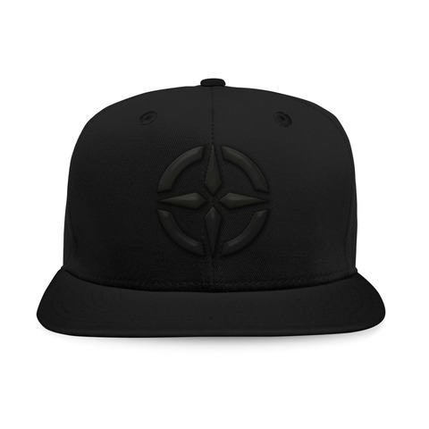 Black on Black Logo von New Horizons - Baseball Cap jetzt im Bravado Shop