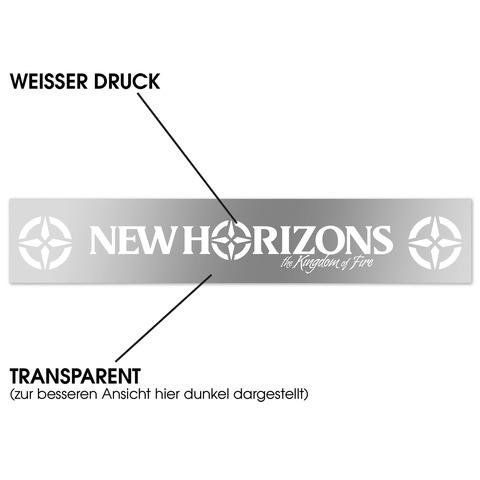 √Logo von New Horizons - Auto-Aufkleber jetzt im Bravado Shop