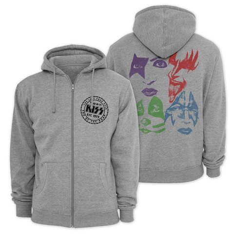 √The Last Tour Ever von Kiss - Hooded jacket jetzt im Bravado Shop