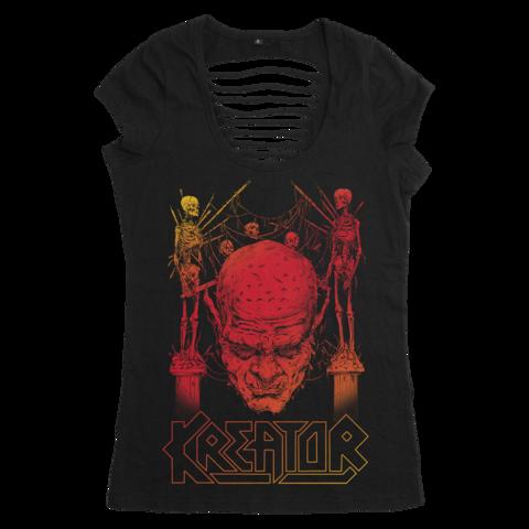 √Sunset Skull von Kreator - Girlie Shirt jetzt im Bravado Shop
