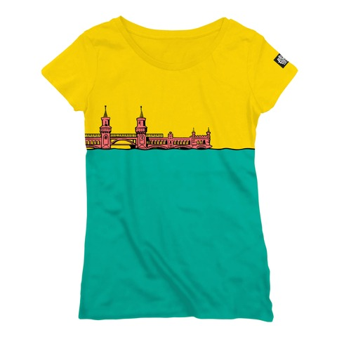 √Oberbaum von Lollapalooza Festival - Girlie Shirt jetzt im Bravado Shop