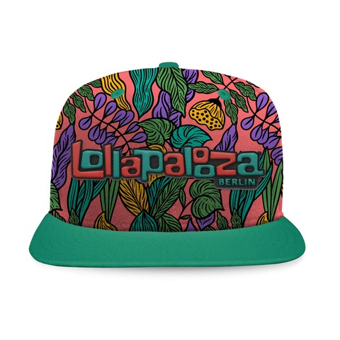 √Flower Allover von Lollapalooza Festival - Snap Back Cap jetzt im Bravado Shop