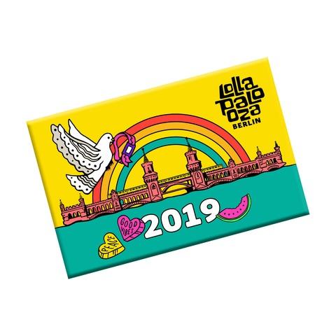 √Oberbaum von Lollapalooza Festival - Refrigerator magnet jetzt im Bravado Shop