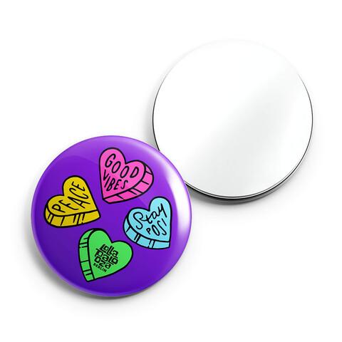√Candy von Lollapalooza Festival - Taschenspiegel jetzt im Bravado Shop
