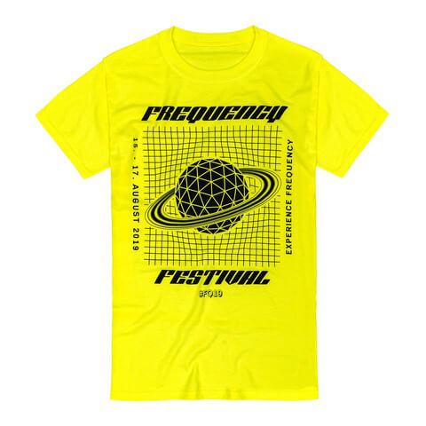 √Grid Globe von Frequency Festival - T-Shirt jetzt im Bravado Shop