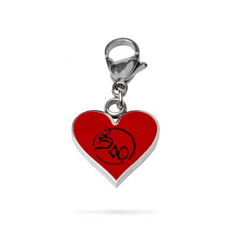 √Heart von Saltatio Mortis - Charm - pendant for charm bracelet jetzt im Bravado Shop
