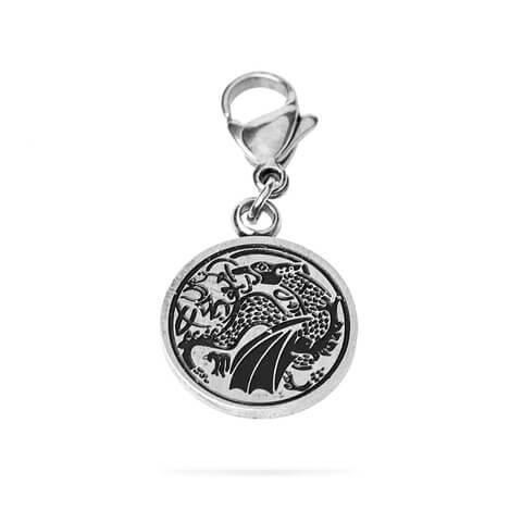 √Drachen Logo von Saltatio Mortis - Charm - pendant for charm bracelet jetzt im Bravado Shop