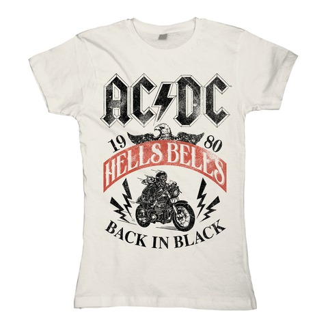 √Hells Bells 1980 von AC/DC - Girlie Shirt jetzt im Bravado Shop