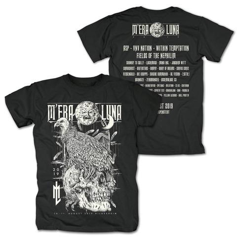 √Vulture Skull von Mera Luna Festival - T-Shirt jetzt im Bravado Shop