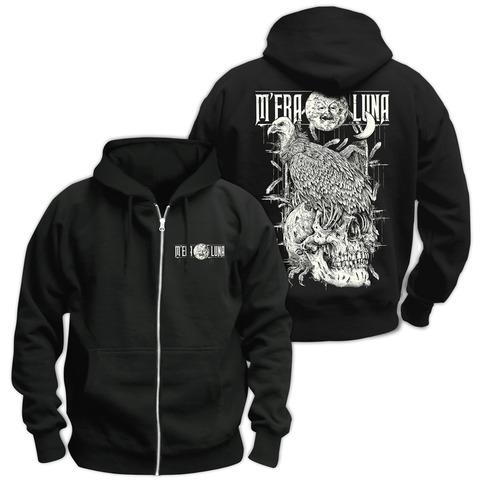 √Vulture Skull von Mera Luna Festival - Hooded jacket jetzt im Bravado Shop