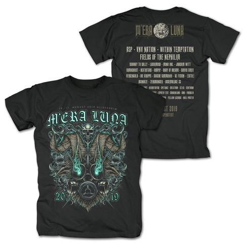 √Messed Up von Mera Luna Festival - T-Shirt jetzt im Bravado Shop