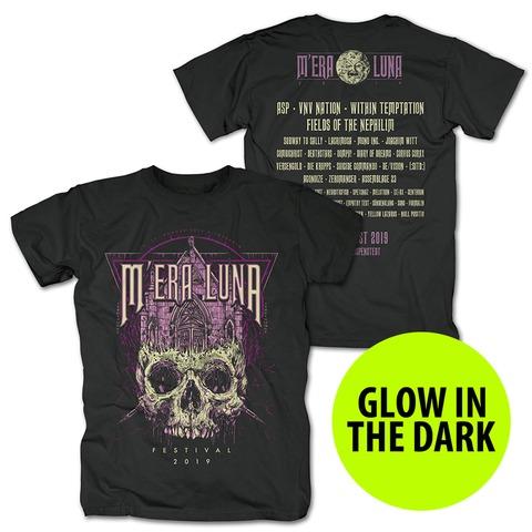 √Skull Church von Mera Luna Festival - T-Shirt jetzt im Bravado Shop