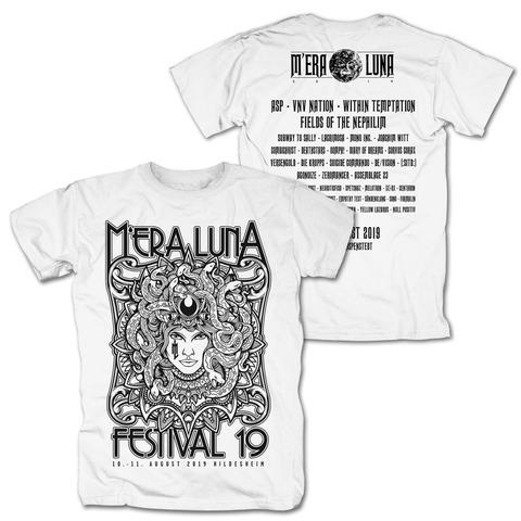 √Medusa von Mera Luna Festival - T-Shirt jetzt im Bravado Shop