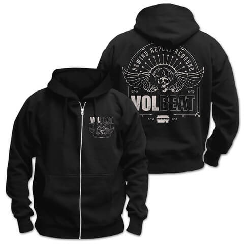 √Winged Frame von Volbeat - Hooded jacket jetzt im Bravado Shop