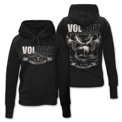 √Hour Glass von Volbeat - Girlie hooded sweater jetzt im Bravado Shop