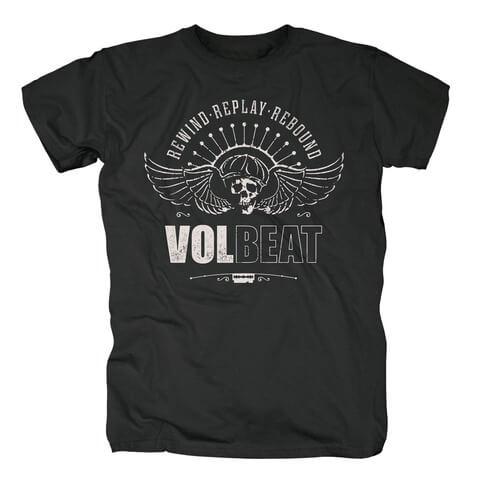 √RRR Skullwing von Volbeat - T-Shirt jetzt im Bravado Shop