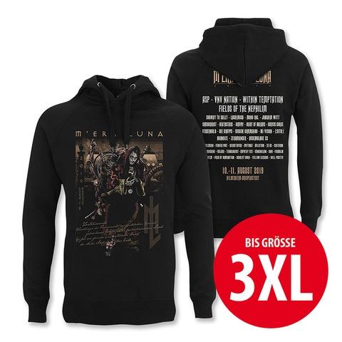 √Zeitenwende von Mera Luna Festival - Hood sweater jetzt im Bravado Shop