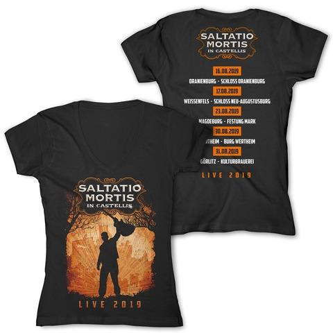 √In Castellis 2019 von Saltatio Mortis - Girlie Shirt jetzt im Bravado Shop