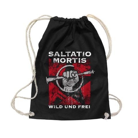 √Wild & Frei von Saltatio Mortis - Gym Bag jetzt im Bravado Shop