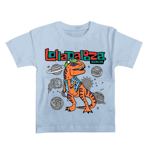 Space Rex von Lollapalooza Festival - Kinder Shirt jetzt im Bravado Shop