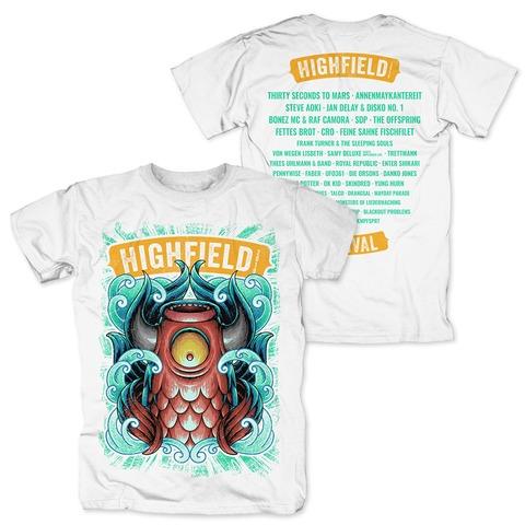 √High Swirling von Highfield Festival - T-Shirt jetzt im Bravado Shop
