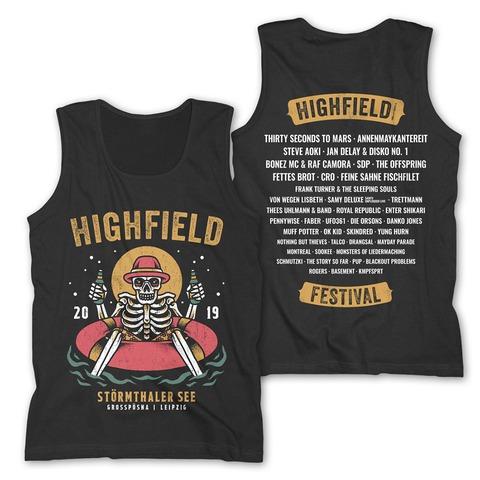 √Chill Out von Highfield Festival - Men's Tank Top jetzt im Bravado Shop