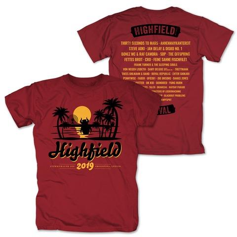 √Sunset von Highfield Festival - T-Shirt jetzt im Bravado Shop
