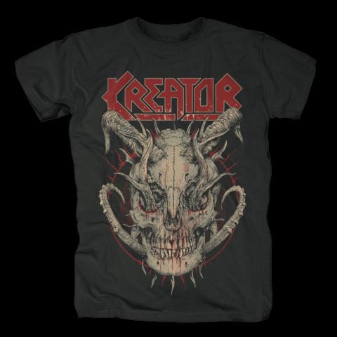 √Skull Horns von Kreator - T-Shirt jetzt im Bravado Shop