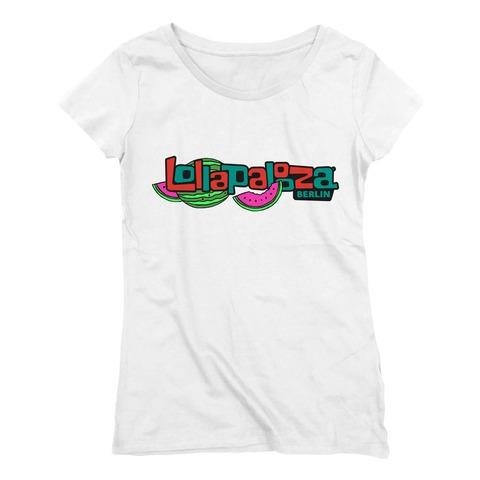 √Logo Melon von Lollapalooza Festival - Girlie Shirt jetzt im Bravado Shop