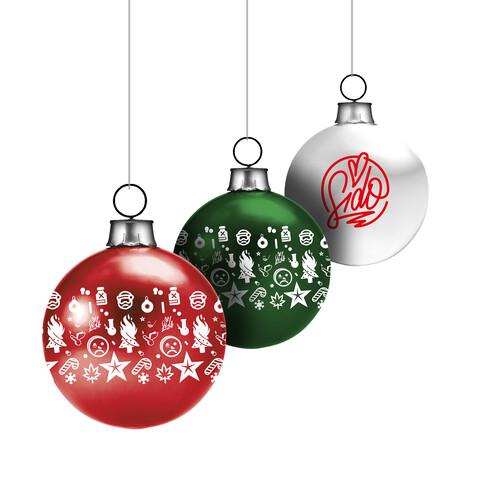 Allover & Logo von Sido - Weihnachtskugeln 3-er Set jetzt im Bravado Shop
