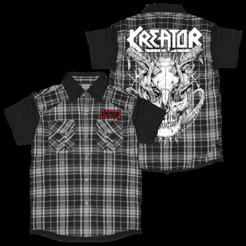 √Skull Horns von Kreator - Worker Shirt jetzt im Bravado Shop