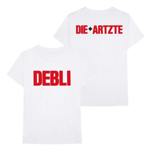 √Die Ärtzte + Debli von die ärzte - T-Shirt jetzt im Bravado Shop