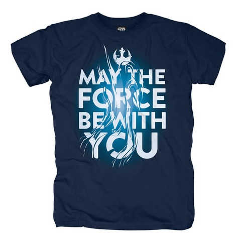 √EP09 - May The Force Be With You von Star Wars - T-Shirt jetzt im Bravado Shop