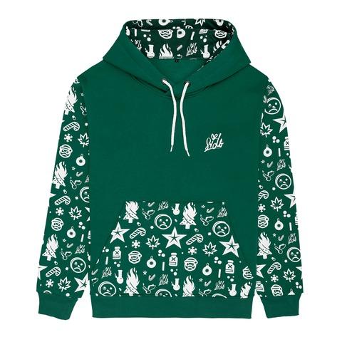 √Ho Ho Ho Allover 2019 von Sido - Hood sweater jetzt im Bravado Shop