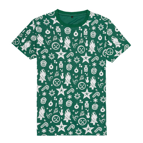 Ho Ho Ho Allover von Sido - T-Shirt jetzt im Bravado Shop