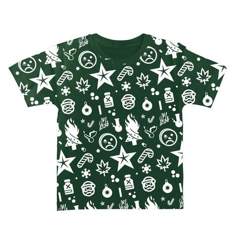 Ho Ho Ho Allover von Sido - Kids Shirt jetzt im Bravado Shop