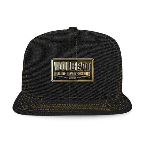 √Metal Badge von Volbeat - Cap jetzt im Bravado Shop